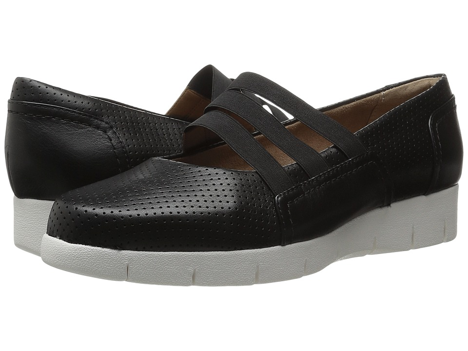 Clarks - Daelyn City (Black Leather) Women's Shoes