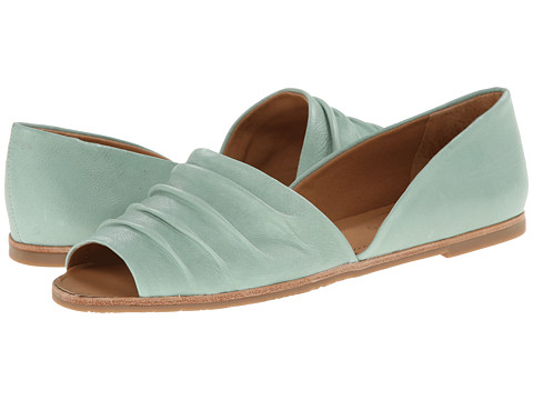 Franco Sarto - Vancouver (New Mint Cashmere Leather) Women's Flat Shoes