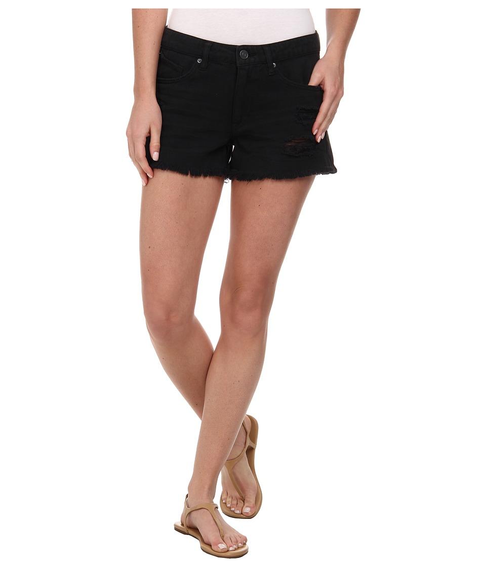 Volcom - Stoned Short (Black Rinser) Women's Shorts