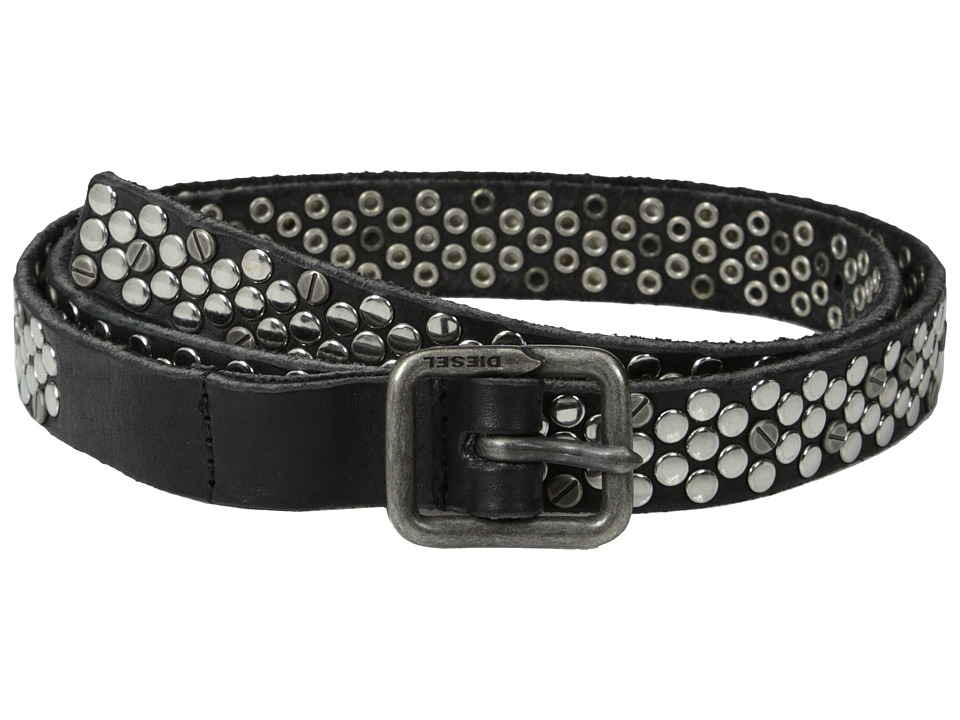 Diesel - Brevis Belt (Black) Women's Belts