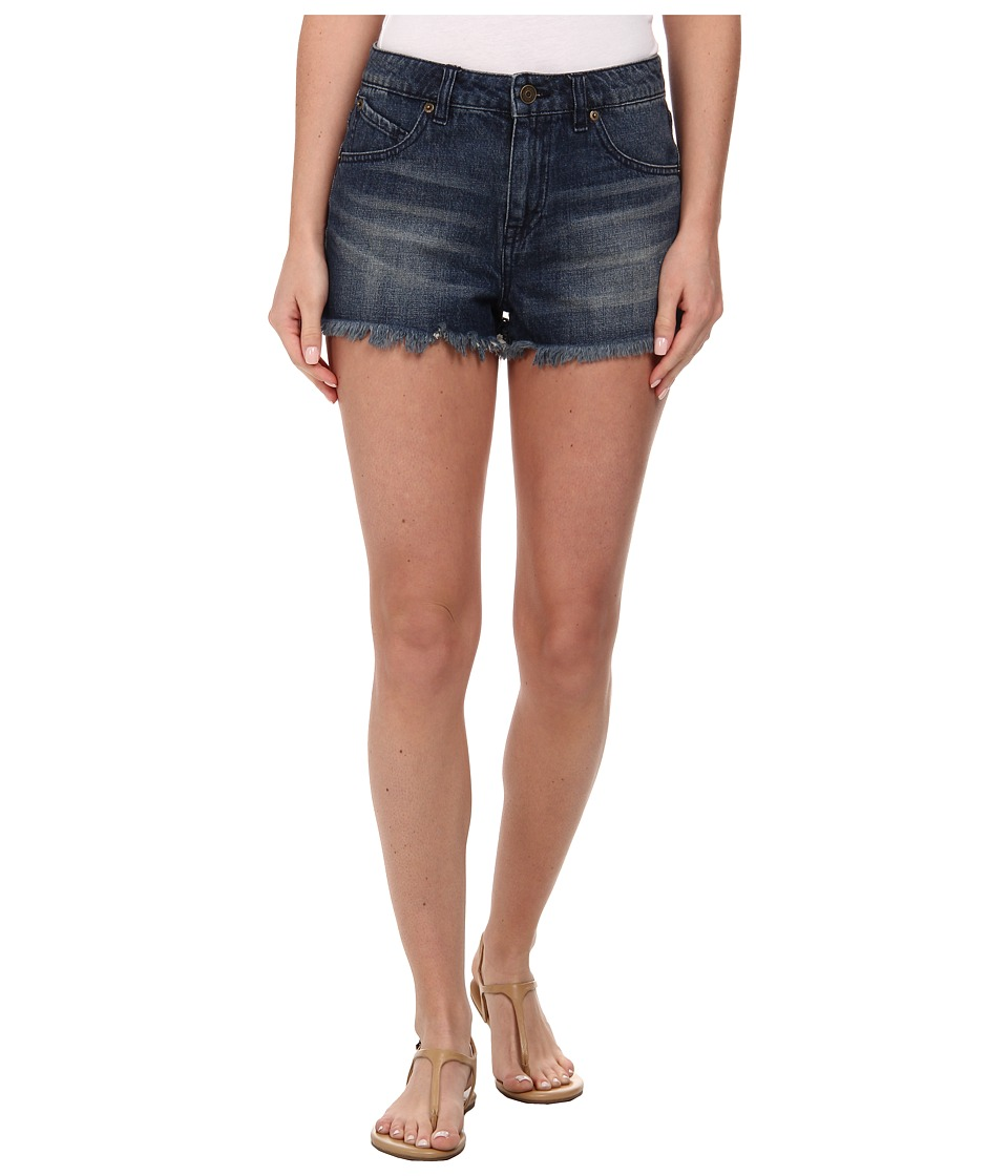 Volcom - High Waisted Short (Free Blue) Women's Shorts