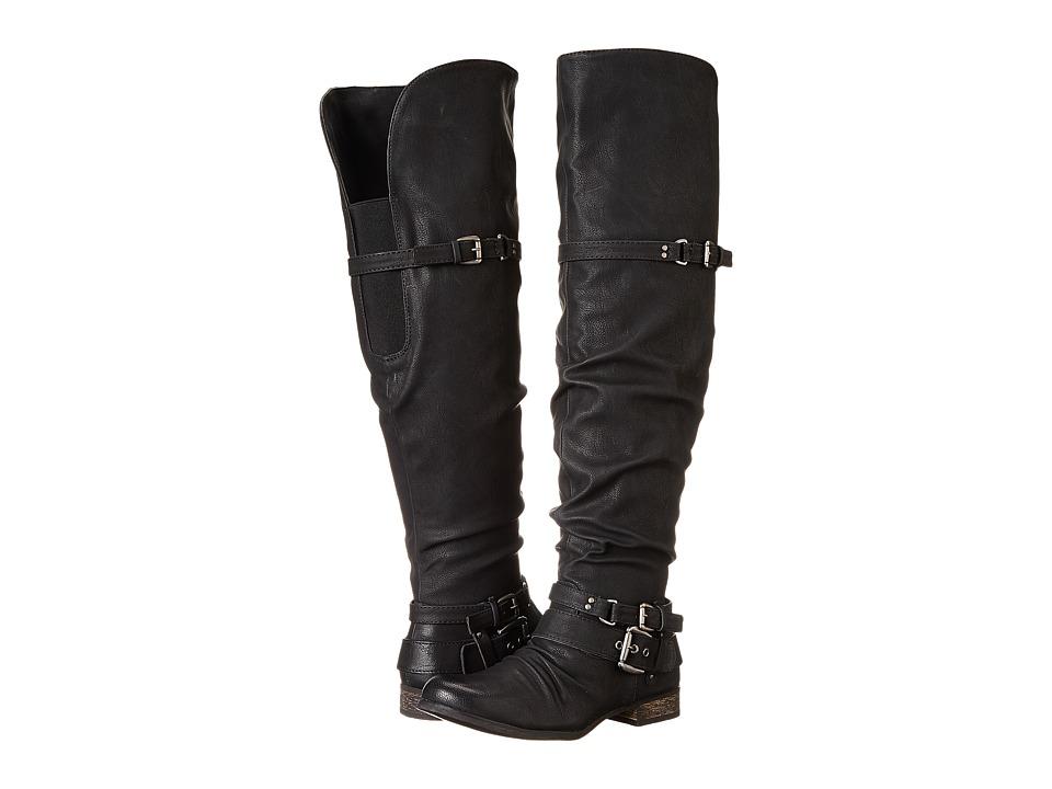 CARLOS by Carlos Santana - Whitney Wide Shaft Boot (Whitney Black) Women