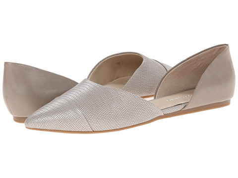Franco Sarto - Hawk (Light Grey Soft Synthetic Nappa/Synthetic Lizard) Women's Flat Shoes