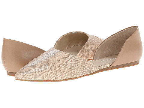 Franco Sarto - Hawk (Nude Soft Synthetic Nappa/Synthetic Lizard) Women's Flat Shoes
