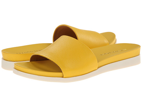 Franco Sarto - Lumia (Yellow Soft Nappa Leather) Women's Slide Shoes