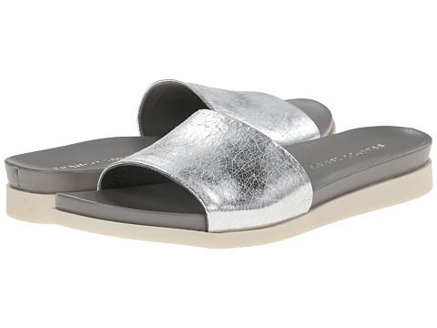 Franco Sarto - Lumia (Silver/Metallic Synthetic) Women's Slide Shoes