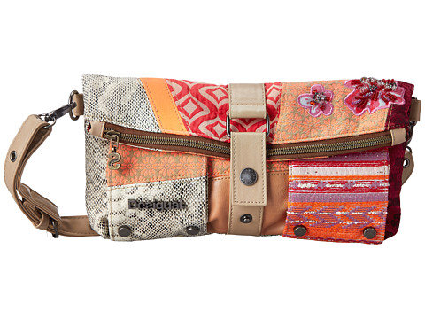Desigual - Jaguar (Beige) Handbags