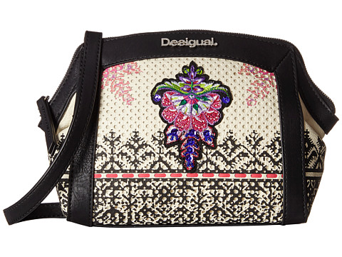 Desigual - Miami Perforado (Beige) Handbags