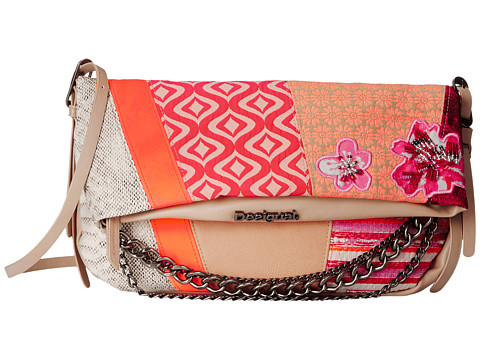 Desigual - New Folded (Beige) Handbags