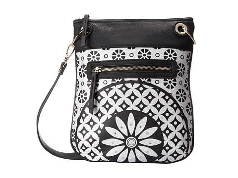 Desigual - Bandolera Margarita (White) Cross Body Handbags