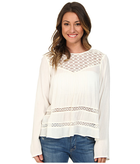 Volcom - Time To Go Top (Cream) Women
