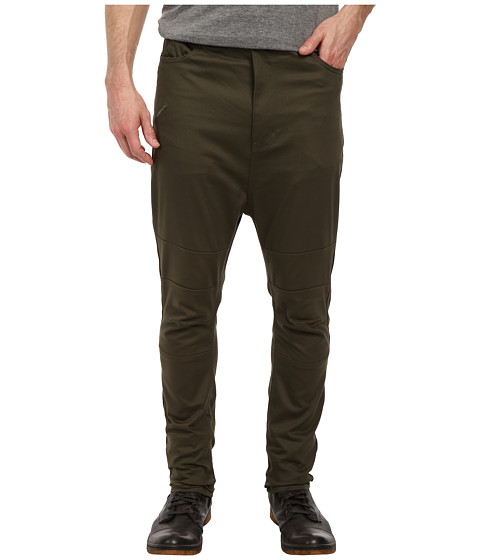 Publish - Vesco Knee Panel Drop Stack Pant (Olive) Men