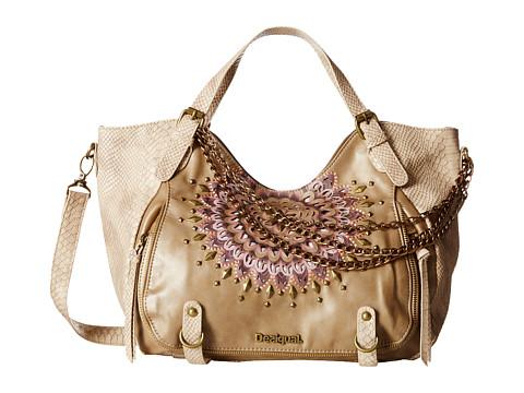 Desigual - Rotterdam Urban Luxe (Beige) Handbags