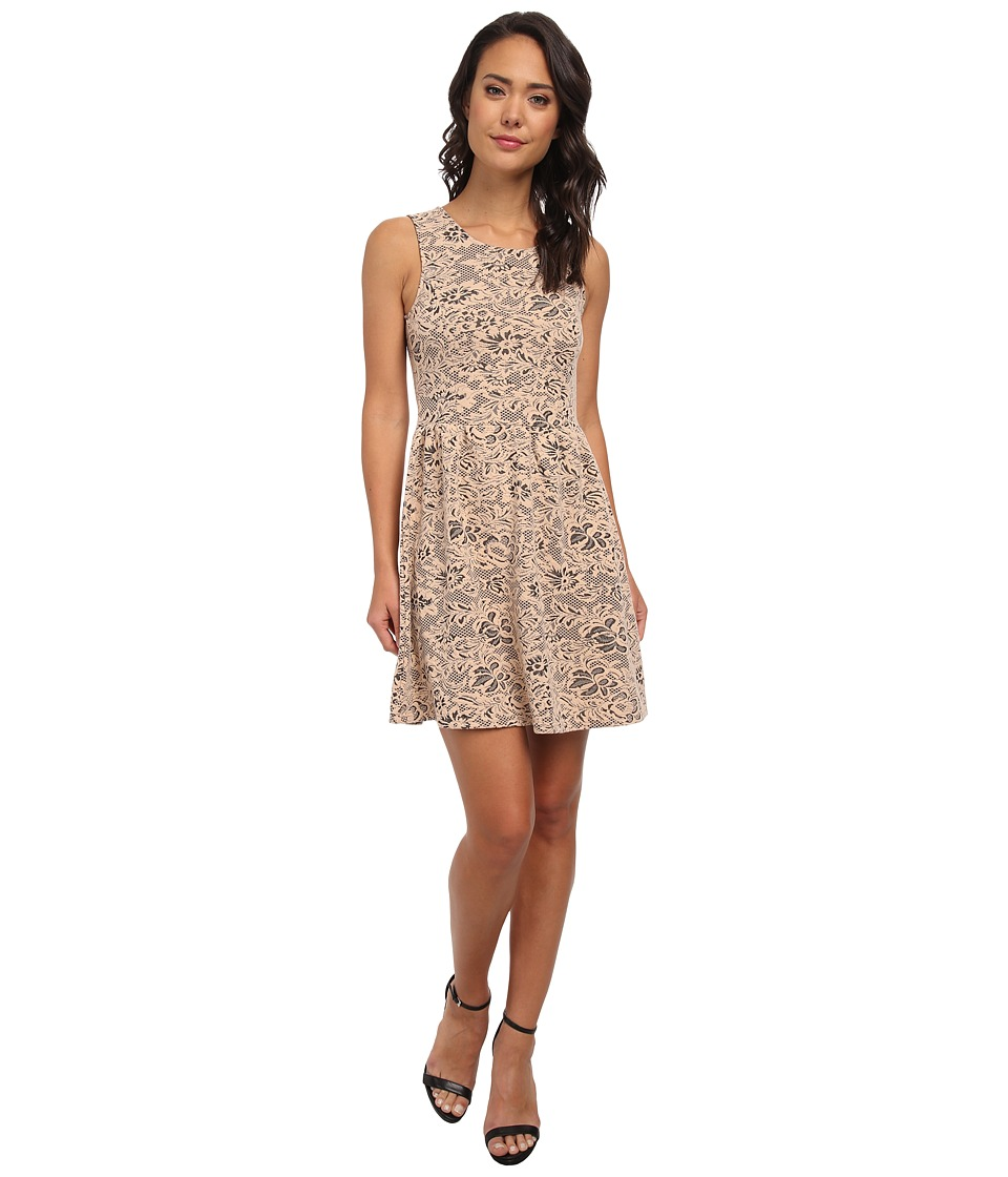 Jack by BB Dakota - Ayres Floral Dress (Pink Shell 1) Women's Dress