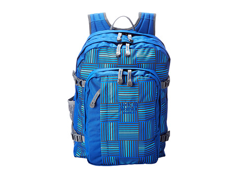 Jack Wolfskin - Berkeley (Blue Woven Checks) Backpack Bags