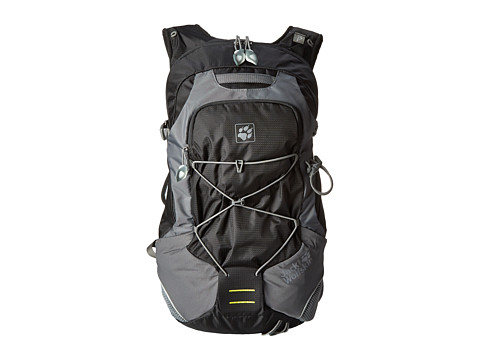 Jack Wolfskin - Electrolyte 22 (Black) Backpack Bags