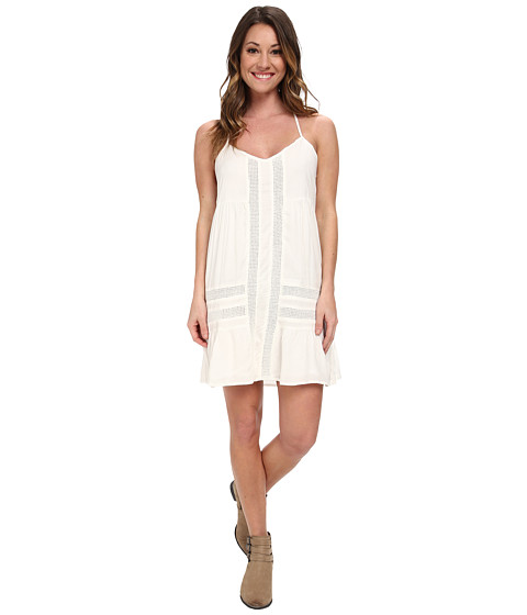 Volcom - Cool Breeze Dress (Cream) Women's Dress