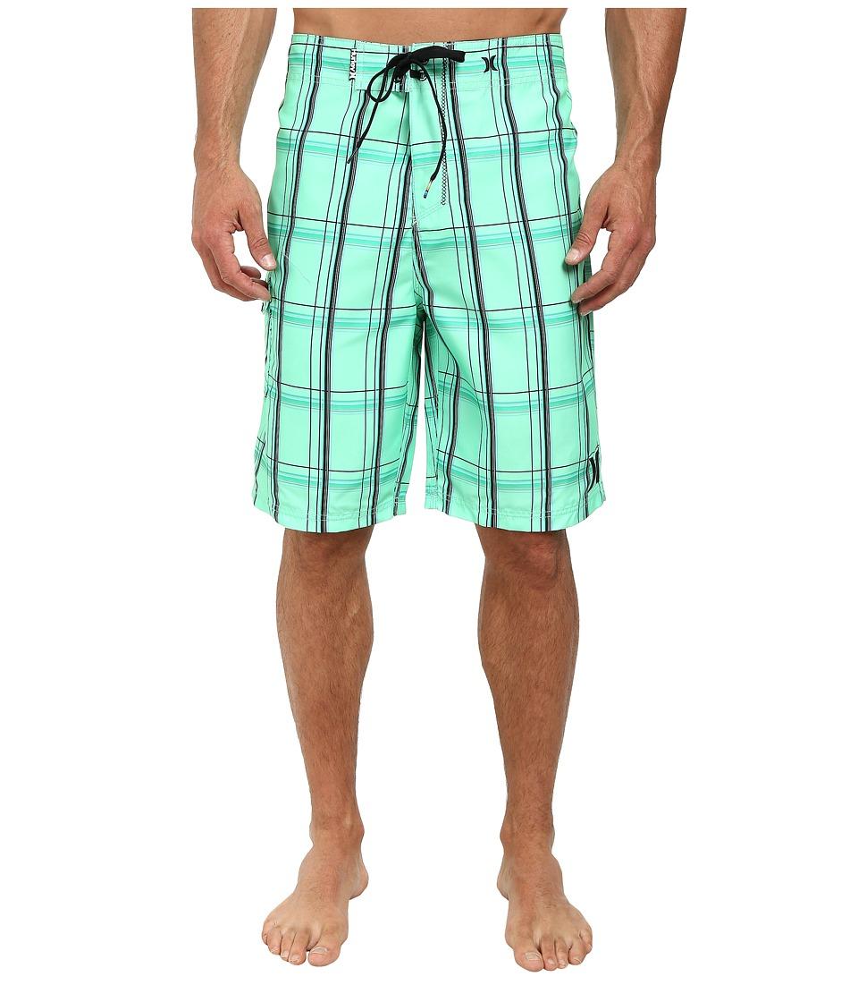 Hurley - Puerto Rico Boardshort (Green Glow) Men's Swimwear