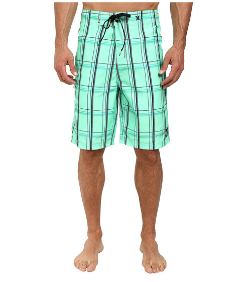 Hurley - Puerto Rico Boardshort (Green Glow) Men's Swimwear