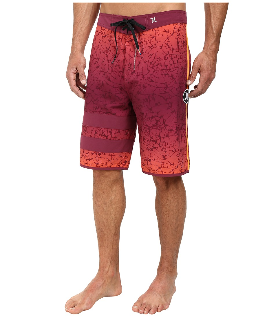 Hurley - Phantom Force 2 21 Boardshort (Villain Red) Men's Swimwear