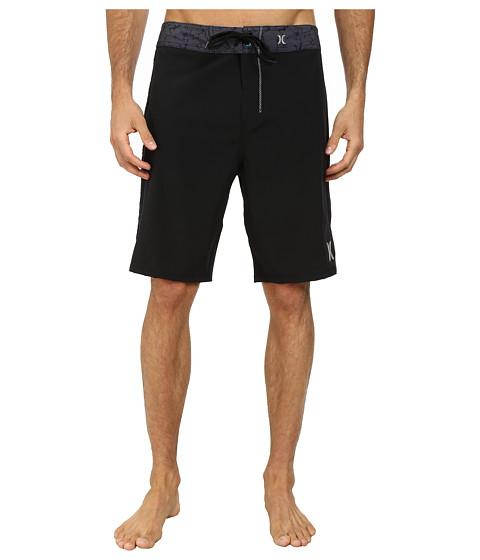 Hurley - Phantom Force Solid 21 Boardshort (Black) Men's Swimwear