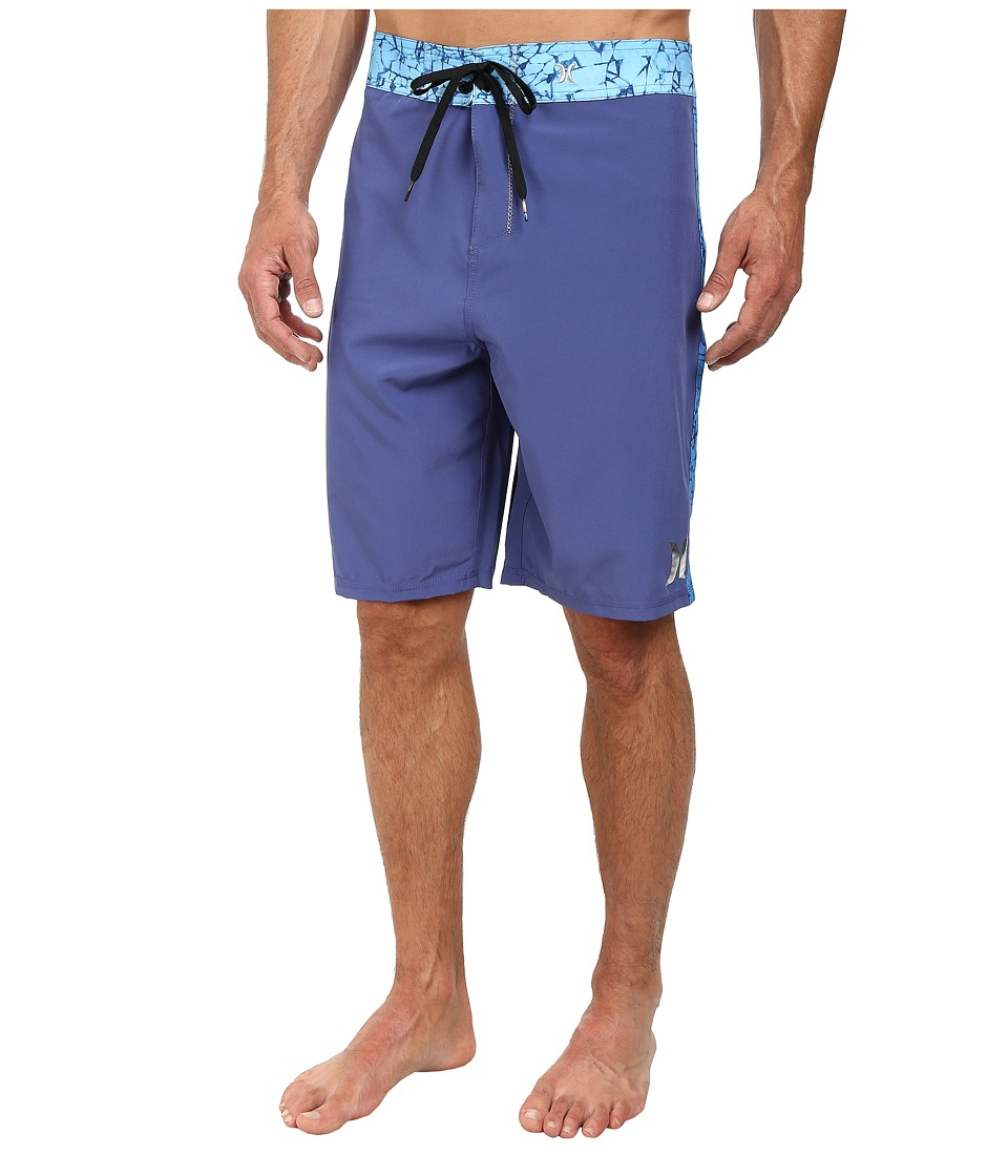 Hurley - Phantom Force Solid 21 Boardshort (Blue Legend) Men's Swimwear