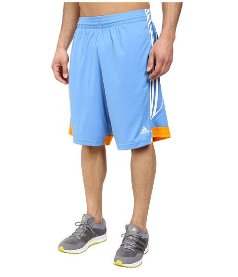 adidas - 3G Speed Short (Lucky Blue/Lucky Orange/White) Men's Shorts