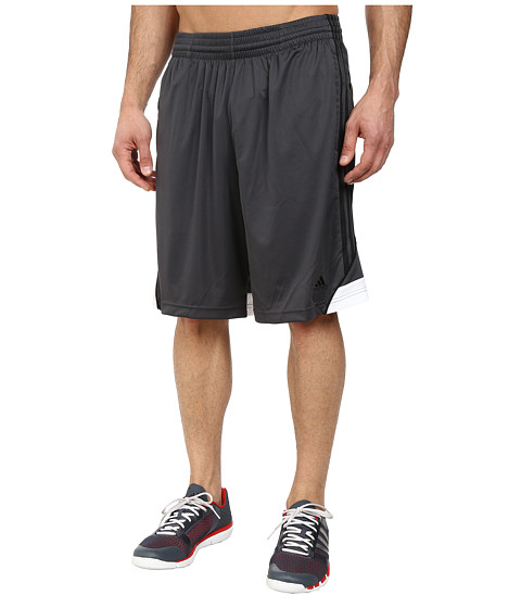 adidas - 3G Speed Short (DGH Solid Grey/White/Black) Men