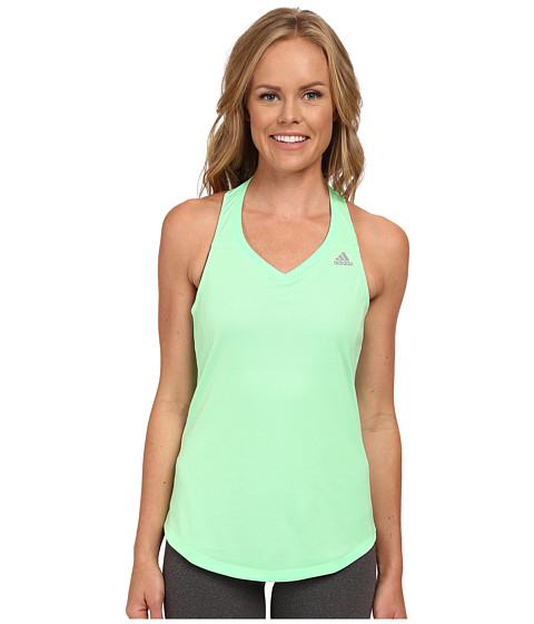 adidas - Sequencials Money Tank W (Light Flash Green) Women's Sleeveless