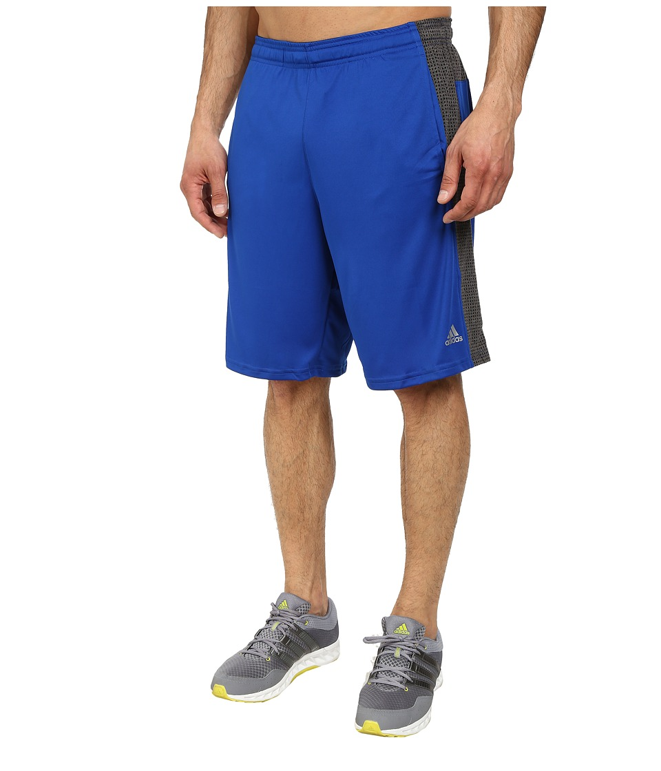 adidas - Aeroknit Short (Black/Collegiate Royal Heather) Men