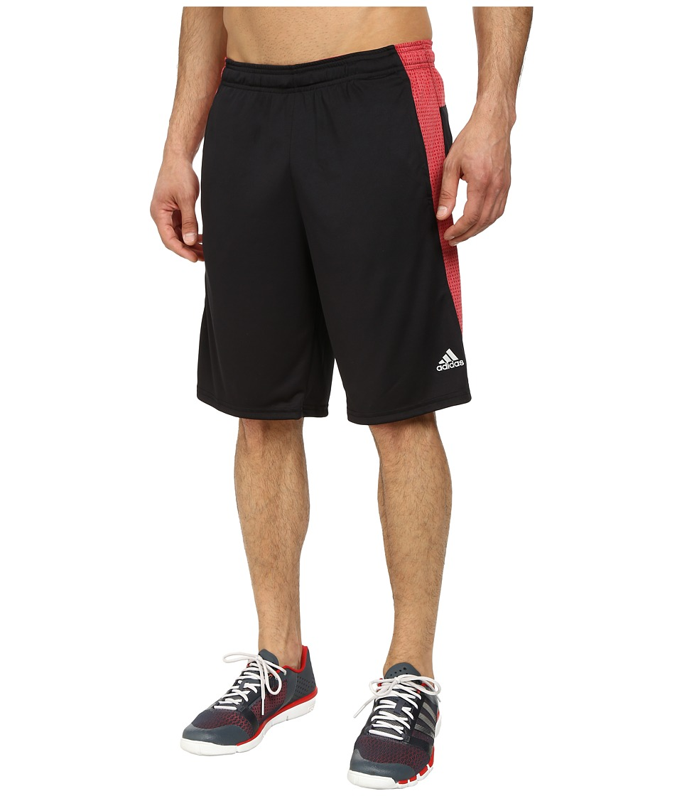 adidas - Aeroknit Short (Power Red/Black Heather) Men