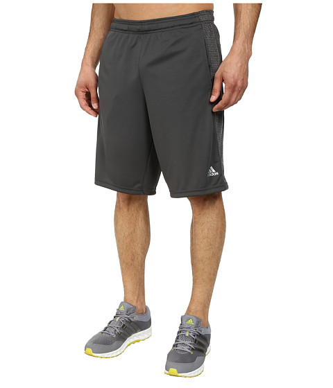 adidas - Aeroknit Short (Black/DGH Solid Grey Heather) Men
