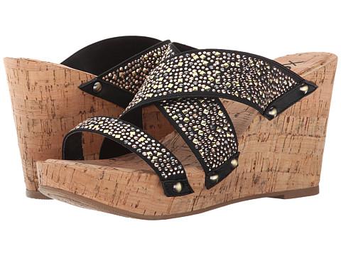 XOXO - Belicia Stud (Black) Women's Shoes