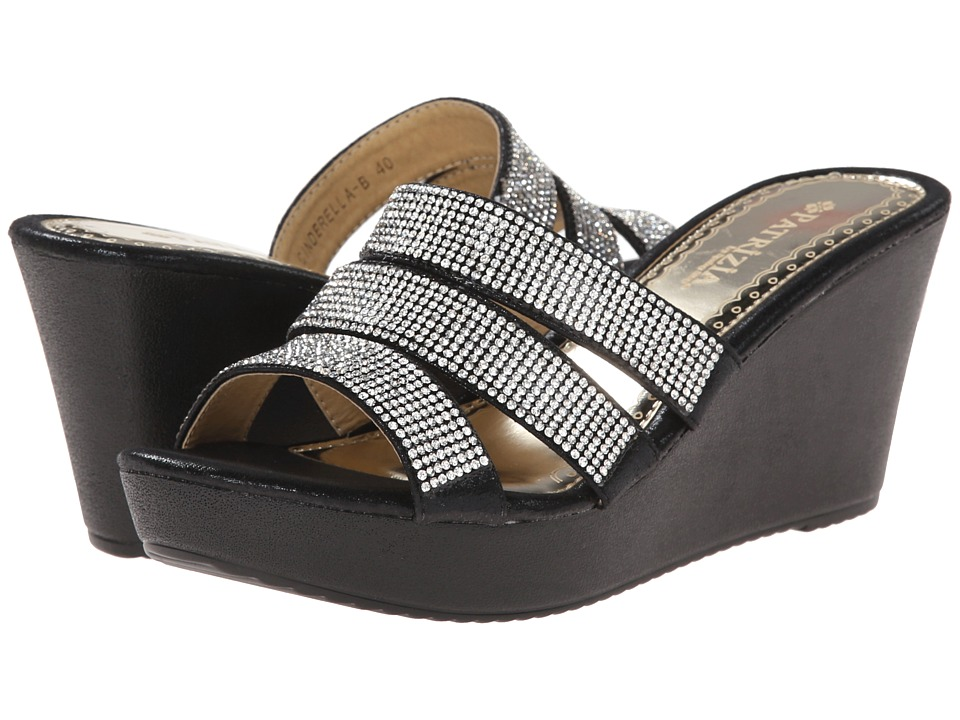PATRIZIA - Cinderella (Black) Women's Sandals