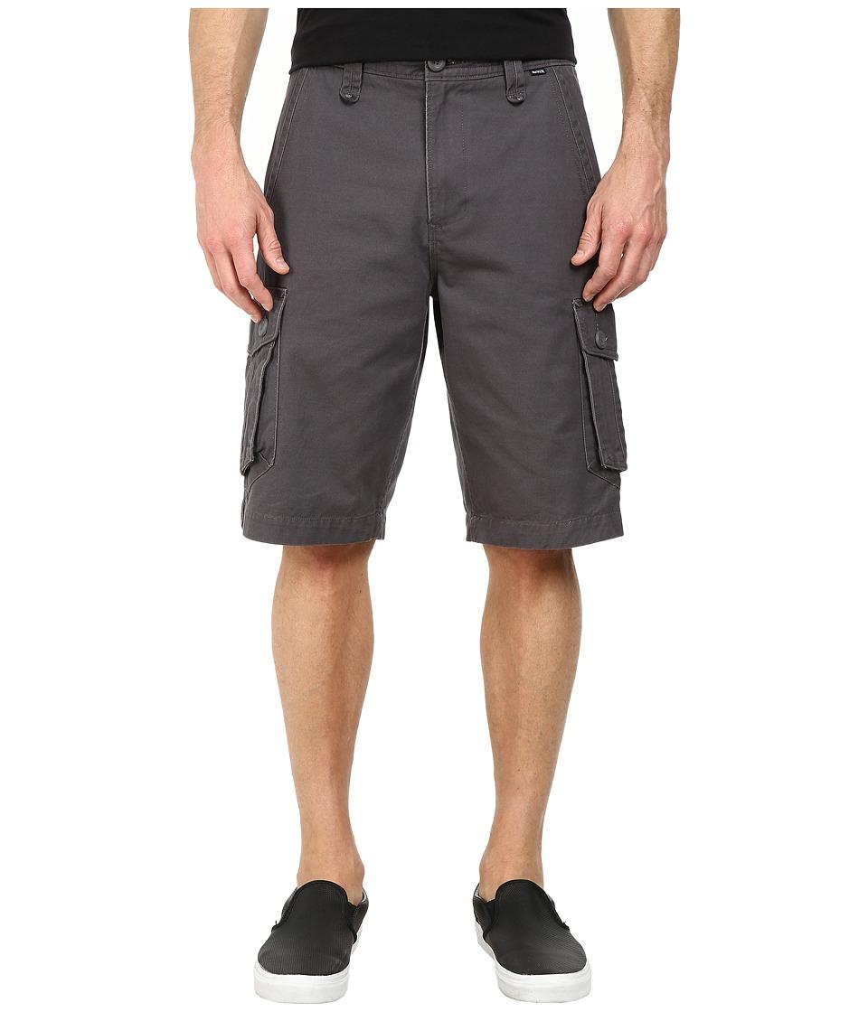 Hurley - One Only Cargo Short (Dark Grey) Men's Shorts
