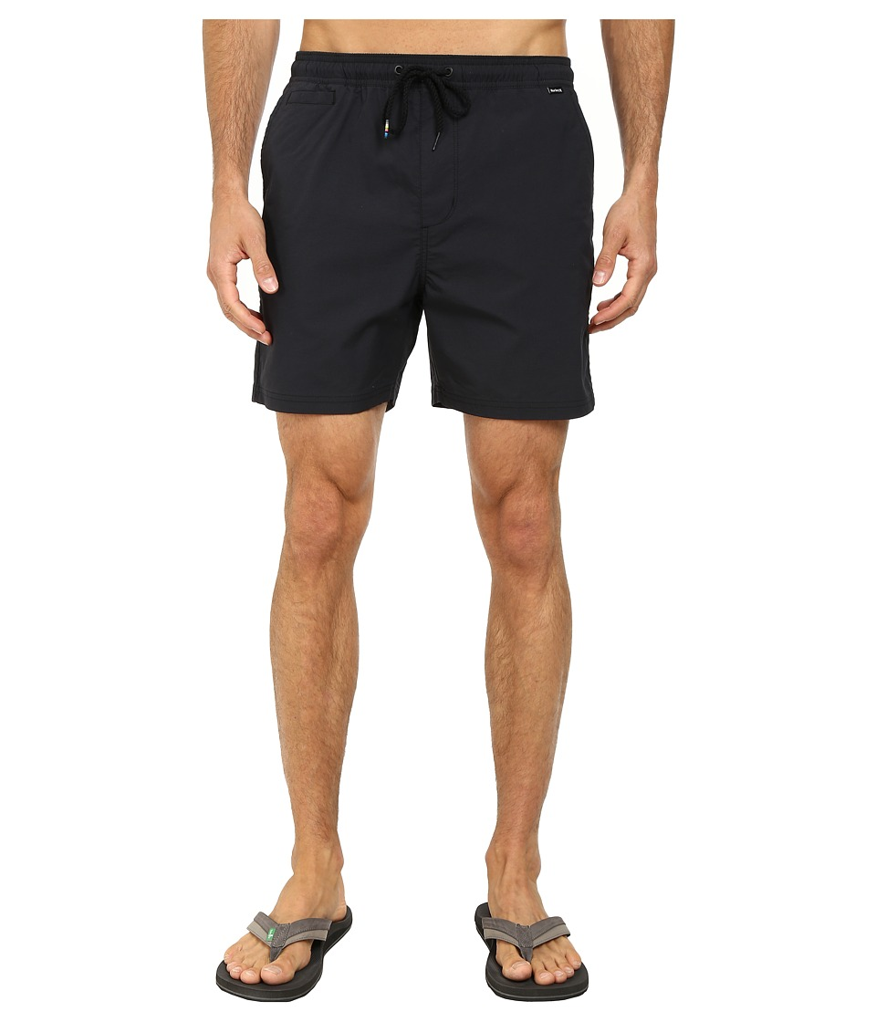 Hurley - Dri-Fit One Only Volley Walkshort (Black) Men's Shorts