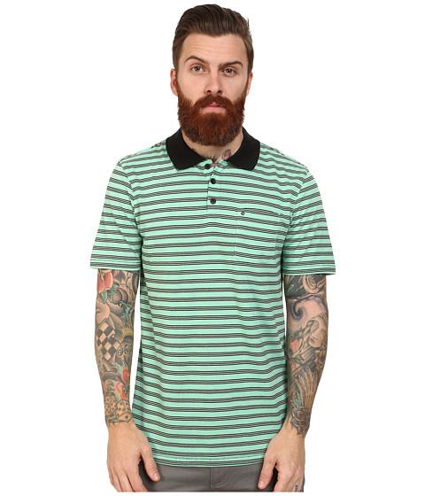 Hurley - Dri-FIT Pier Polo (Enamel Green) Men's Clothing