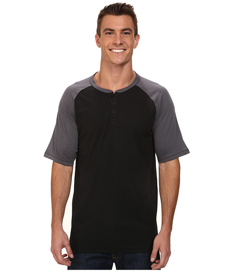 Hurley - Dri-Fit Main Henley (Black) Men