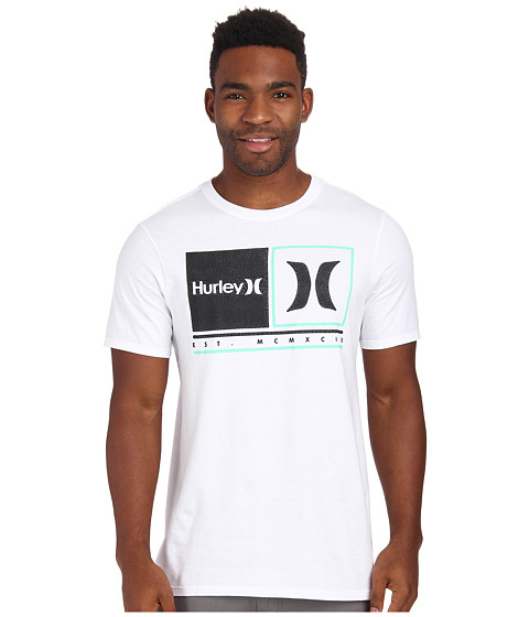 Hurley - Call It Tee (White) Men