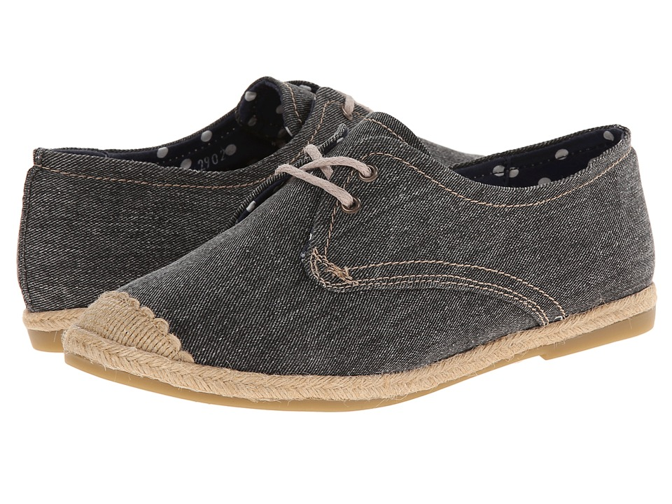 Gabriella Rocha - Amelia (Black Washed Out Denim) Women's Shoes