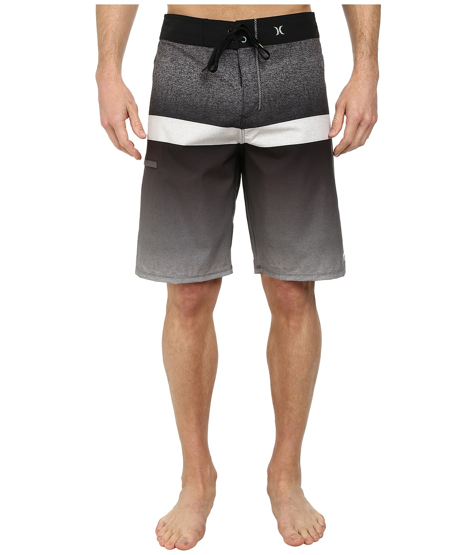 Hurley - Phantom Blocked Flight 21 Boardshort (Black) Men