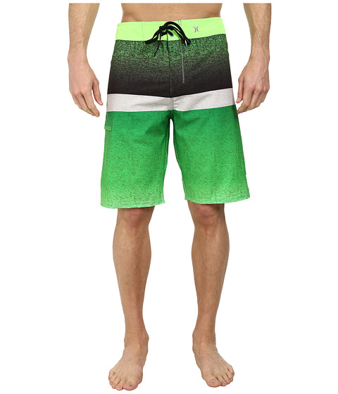 Hurley - Phantom Blocked Flight 21 Boardshort (Neon Green) Men