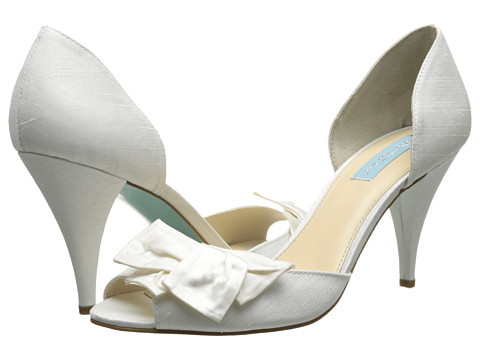 Blue by Betsey Johnson - Lily (Ivory Satin) High Heels