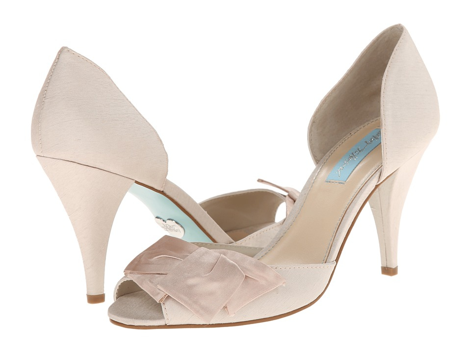 Blue by Betsey Johnson - Lily (Champgane Satin) High Heels