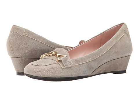 Taryn Rose - Palmer (Camel Print Pattern Suede) Women's Shoes