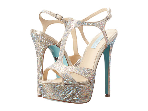 Blue by Betsey Johnson - Crush (Champagne Fabric) High Heels