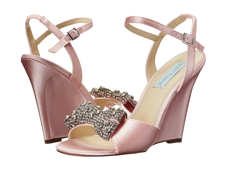 Blue by Betsey Johnson - Dress (Pink) Women's Wedge Shoes