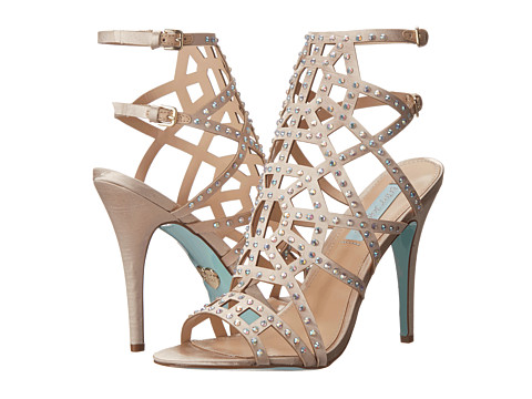 Blue by Betsey Johnson - Carat (Champagne Satin) High Heels