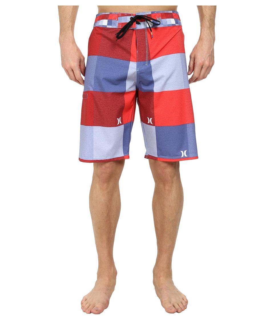 Hurley - Phantom Heathered Kingsroad Boardshort (Blue Legend) Men's Swimwear
