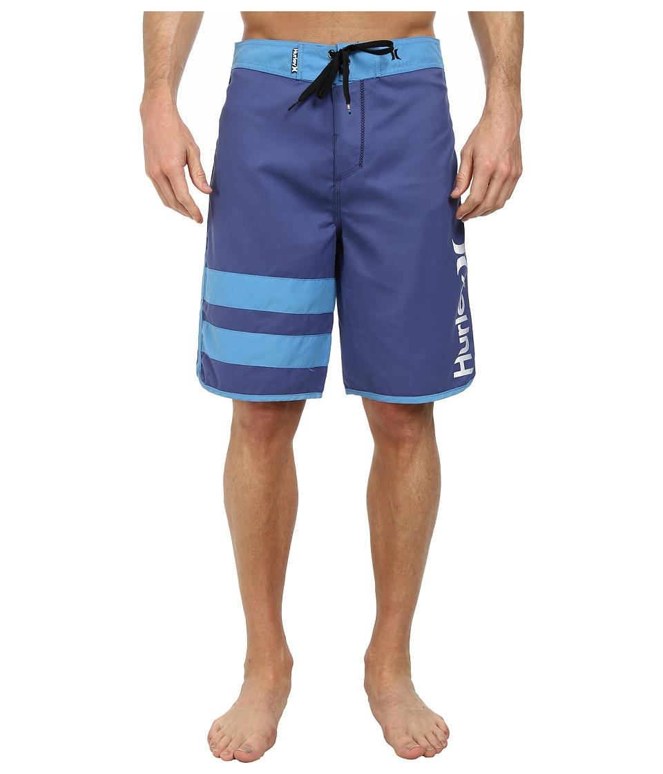Hurley - Block Party Core Boardshort (Blue Legend) Men's Swimwear